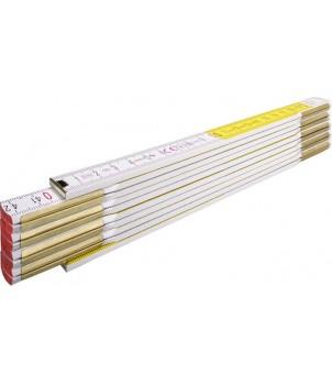 Метр складной деревянный, 2м х 16мм STABILA 417 14555