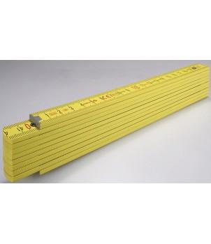 STABILA Метр складной  деревянный желтый Тип 407P 2м х 16м