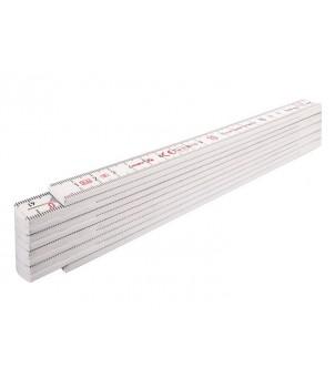 Метр складной пластмассовый, 2м х 16мм STABILA 1007 01001