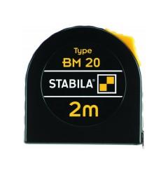 Рулетка измерительная, 2м х 12,5мм STABILA BM 20 16444