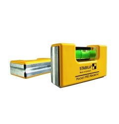 Уровень карманный STABILA Pocket PRO Magnetic  17768, ST-17768, 1755 руб., ST-17768, , Уровни специальные