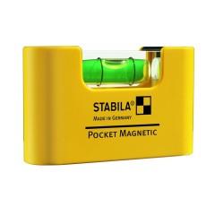 Уровень карманный STABILA Pocket Magnetic 17774, ST-17774, 821 руб., ST-17774, , Уровни специальные