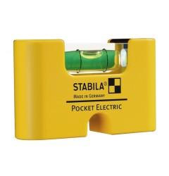 Уровень карманный STABILA Pocket Electric 17775, ST-17775, 955 руб., ST-17775, , Уровни специальные