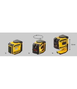 Лазерный построитель плоскостей STABILA LAX 300 Set 18327