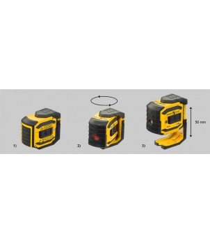 Лазерный построитель точек STABILA LA-5P Complete Set 18328